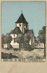 AK / Ansichtskarte Beine Kirche  Kat. Beine