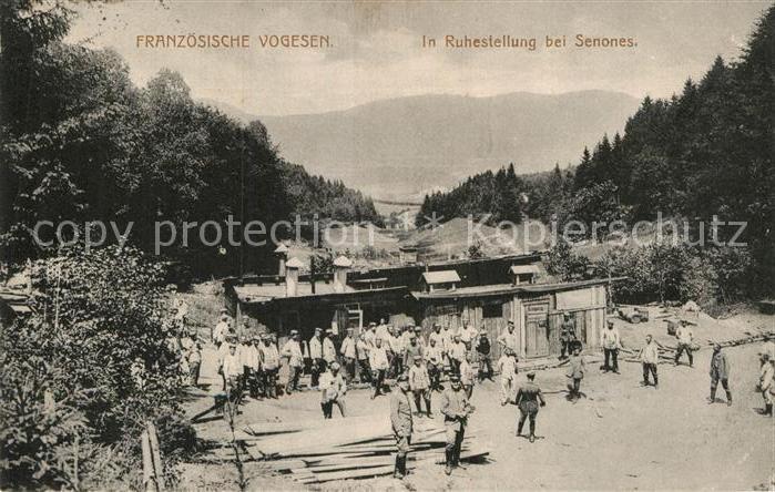 AK / Ansichtskarte Senones Vosges Ruhestellung  Kat. Senones