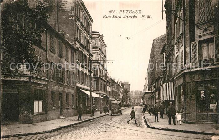 AK / Ansichtskarte Puteaux Rue Jean Jaures  Kat. Puteaux
