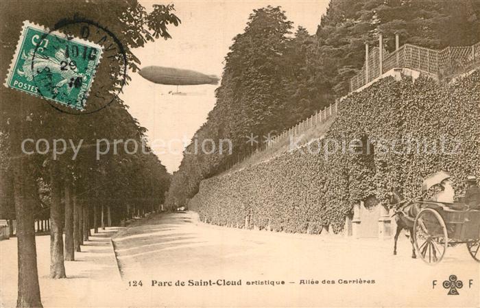 AK / Ansichtskarte Saint Cloud Hauts de Seine Parc Allee des Carrieres  Kat. Saint Cloud