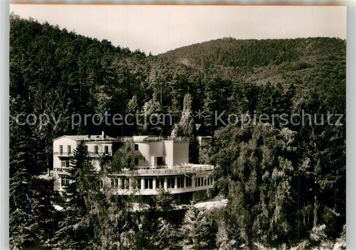 AK / Ansichtskarte Bad Bergzabern Parkhotel Kat. Bad Bergzabern