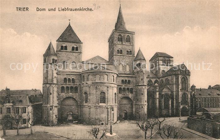 AK / Ansichtskarte Trier Dom und Liebfrauenkirche Kat. Trier
