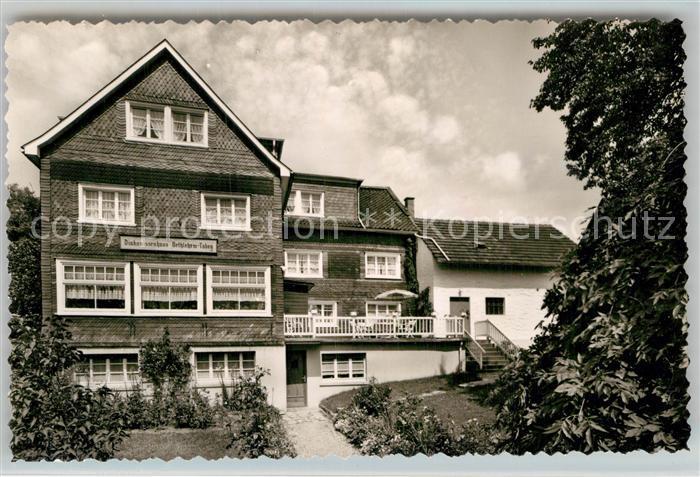 AK / Ansichtskarte Wuelfringhausen Diakonissenhaus Kat. Wiehl