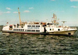 AK / Ansichtskarte Motorschiffe Adler Vineta  Kat. Schiffe
