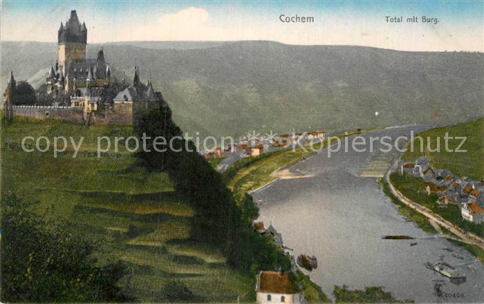 AK / Ansichtskarte Cochem Mosel Panorama Mosel Burg Kat. Cochem