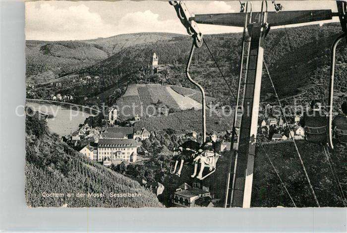 AK / Ansichtskarte Cochem Mosel Sesselbahn Kat. Cochem