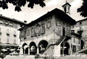 AK / Ansichtskarte Orta San Giulio Palazzotto Comunale Monumento Nazionale Kat. Novara
