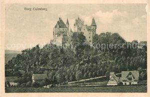 AK / Ansichtskarte Calenberg Burg Calenberg  Kat. Warburg