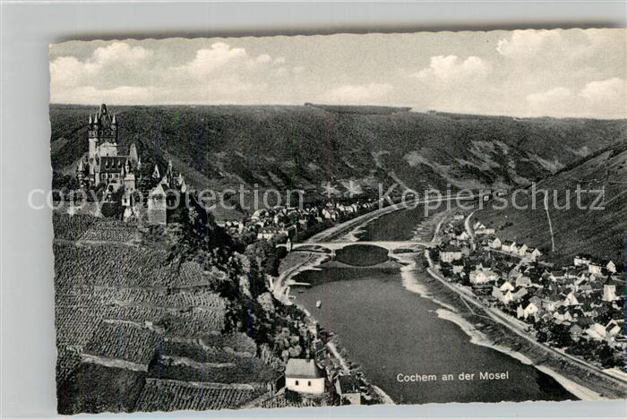 AK / Ansichtskarte Cochem Mosel Panorama Burg Mosel  Kat. Cochem