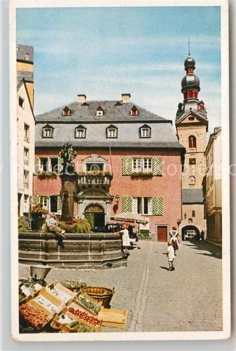 AK / Ansichtskarte Cochem Mosel Marktplatz Kat. Cochem