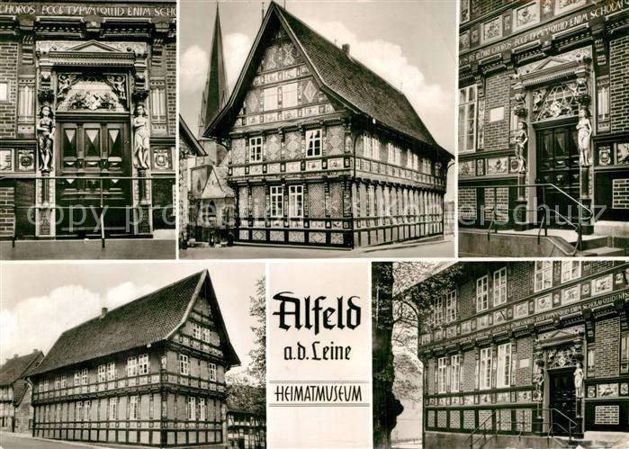 AK / Ansichtskarte Alfeld Leine Heimatmuseum Historische Gebaeude Kat. Alfeld (Leine)
