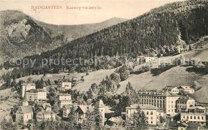 AK / Ansichtskarte Badgastein Kaiserpromenade Kat. Bad Gastein
