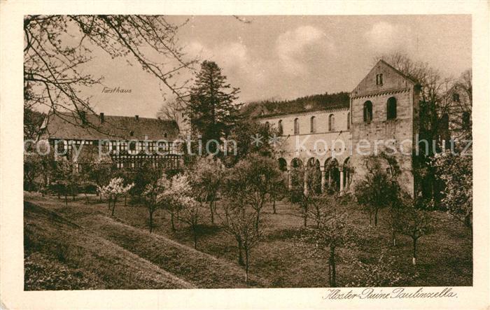 AK / Ansichtskarte Paulinzella Kloster Ruine Kat. Rottenbach Thueringen