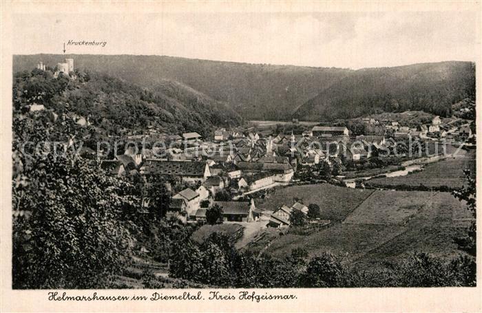 AK / Ansichtskarte Helmarshausen Diemeltal Kruckenburg Kat. Bad Karlshafen
