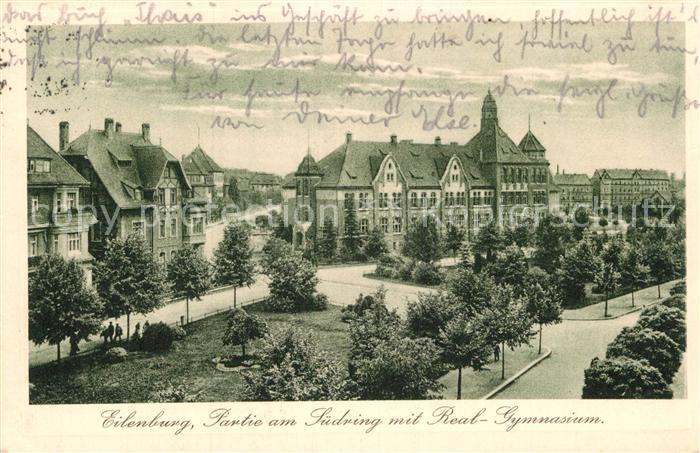 AK / Ansichtskarte Eilenburg Suedring Real Gymnasium Kat. Eilenburg