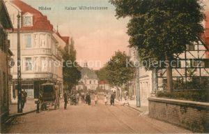 AK / Ansichtskarte Hilden Mettmann Kaiser Wilhelmstrasse  Kat. Hilden