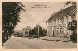 AK / Ansichtskarte Wermelskirchen Berliner Strasse Sparkasse  Kat. Wermelskirchen