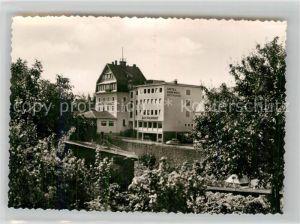 AK / Ansichtskarte Daun Eifel Hotel Hommes Kat. Daun