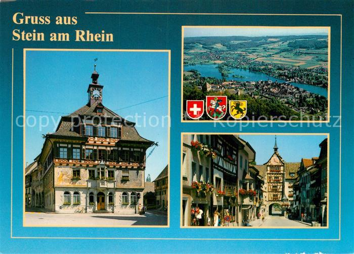 AK / Ansichtskarte Stein Rhein Ortspartie Stadttor Rhein Kat. Stein Rhein