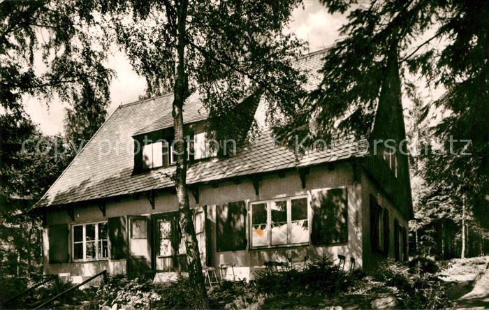 AK / Ansichtskarte Bad Elster FDGB Volksheilbad Waldcafe Baerenloh Kat. Bad Elster