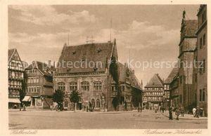 AK / Ansichtskarte Halberstadt Rathaus am Holzmarkt Kat. Halberstadt