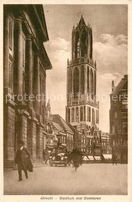 AK / Ansichtskarte Utrecht Stadhuis met Domtoren Kat. Utrecht