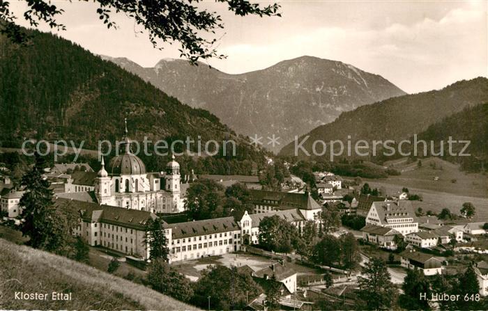 AK / Ansichtskarte Ettal Kloster Ettal Kat. Ettal