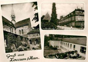 AK / Ansichtskarte Loccum Kloster Innenhof Konventsgebaeude Ev Akademie Kat. Rehburg Loccum