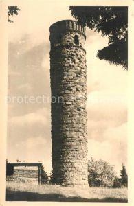 AK / Ansichtskarte Adlersberg Suhl Turm Blockhaus