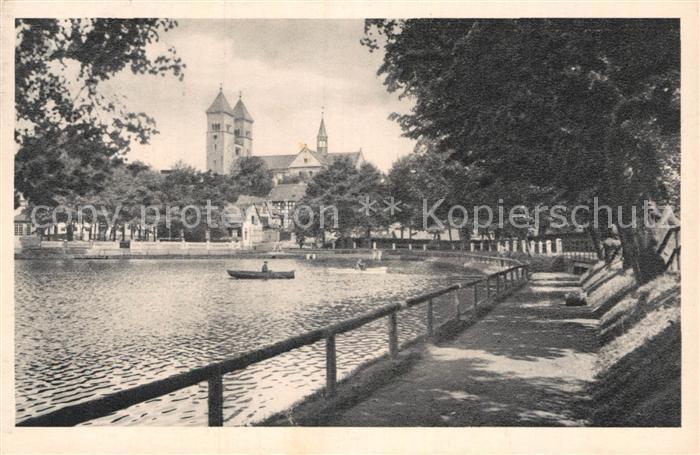 AK / Ansichtskarte Klosterlausnitz Bad Klosterteich Kirche Kat. Bad Klosterlausnitz