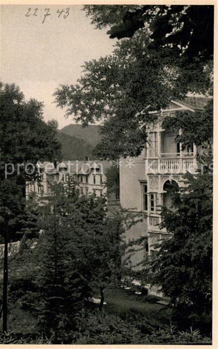 AK / Ansichtskarte Friedrichroda Thueringer Wald Heim Kat. Friedrichroda