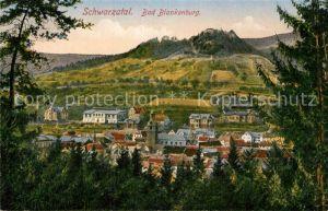 AK / Ansichtskarte Schwarzatal Bad Blankenburg Kat. Rudolstadt