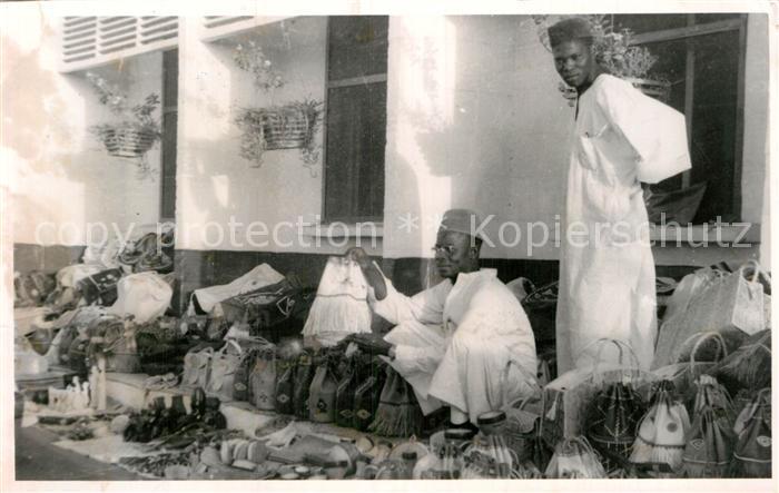 AK / Ansichtskarte Nigeria Typen Markt  Kat. Nigeria