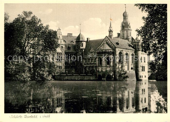 AK / Ansichtskarte Darfeld Wasserschloss Kat. Rosendahl