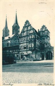 AK / Ansichtskarte Bamberg Alte Hofhaltung Kat. Bamberg