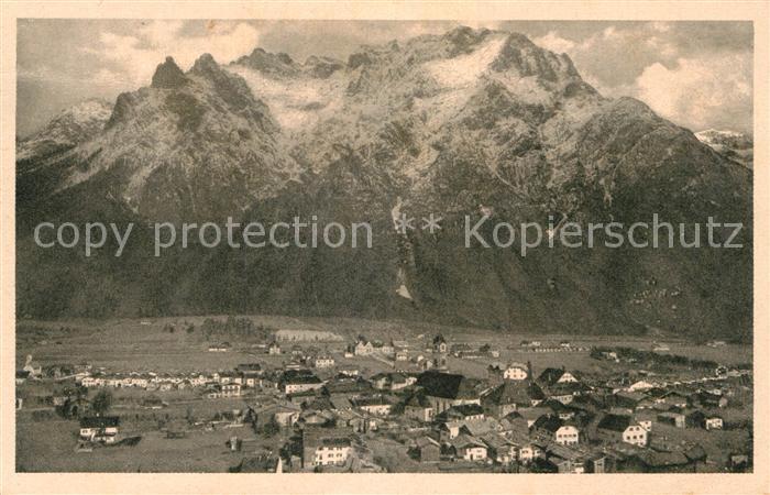 AK / Ansichtskarte Mittenwald Karwendel Tirol Karwendel Panorama Kat. Schwaz