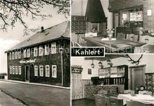 AK / Ansichtskarte Kahlert Gasthaus zum Falken Kat. Neustadt Rennsteig