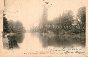 AK / Ansichtskarte Bois de Boulogne Vers le Pavillon Royal