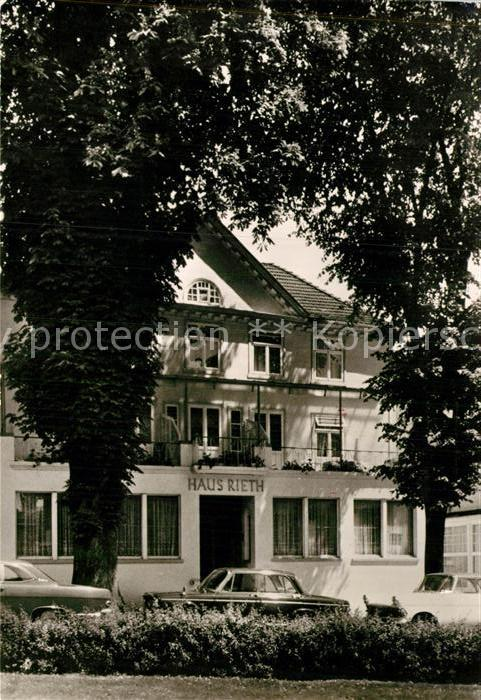 AK / Ansichtskarte Bad Pyrmont Haus Rieth Kat. Bad Pyrmont