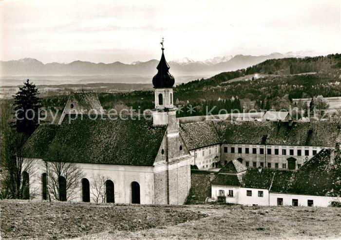AK / Ansichtskarte Wessobrunn Kloster und Pfarrkirche Kat. Wessobrunn