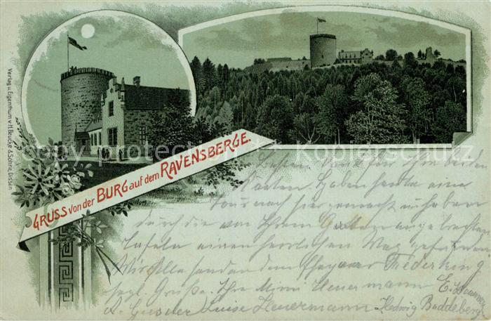 AK / Ansichtskarte Borgholzhausen Burg Ravensberg Kat. Borgholzhausen