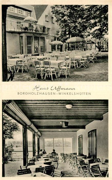 AK / Ansichtskarte Winkelshuetten Haus Uffmann  Kat. Borgholzhausen