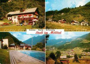 AK / Ansichtskarte Stall Moelltal Pension Prenn Freibad Kat. Stall