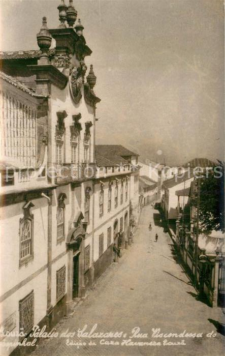 AK / Ansichtskarte Louza Palacio dos Salazares Rua Viscondessa de Espinhal