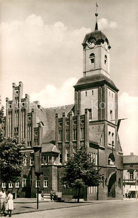 AK / Ansichtskarte Wittstock Dosse Rathaus Kat. Wittstock