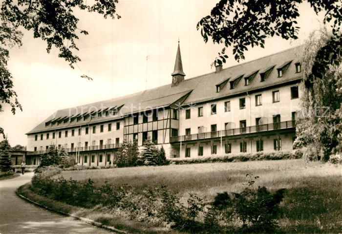 AK / Ansichtskarte Warmbad Wolkenstein Sanatorium Kat. Wolkenstein