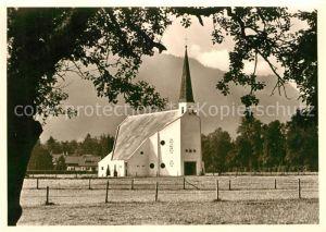 AK / Ansichtskarte Rottach Egern Ev Auferstehungskirche Kat. Rottach Egern