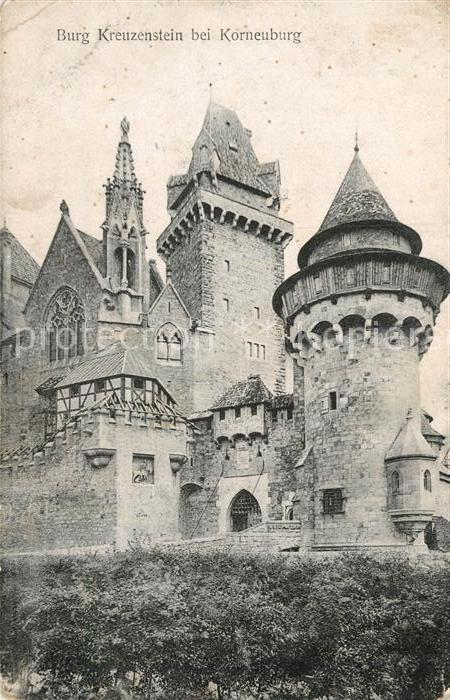 AK / Ansichtskarte Korneuburg Burg Kreuzenstein Kat. Korneuburg