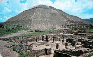 AK / Ansichtskarte Teotihuacan Piramide del Sol Kat. San Juan Teotihuacan Mexiko