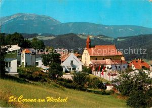 AK / Ansichtskarte St Corona Wechsel Kirchenpartie Kat. St. Corona am Wechsel